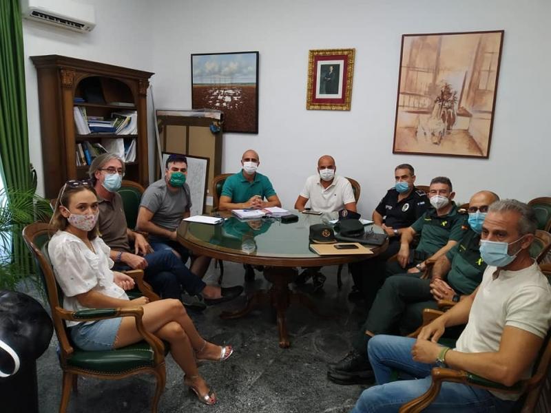 Ayuntamiento de Zafra y hosteleros acuerdan la obligatoriedad del uso de la mascarilla en bares y terrazas