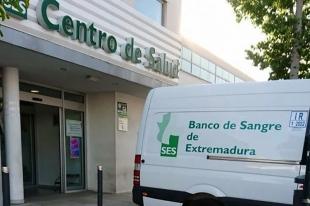 El Banco de Sangre se desplazará a Los Santos de Maimona y Valencia del Ventoso en septiembre