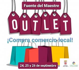 Outlet del comercio local de Fuente del Maestre del 24 al 26 de septiembre