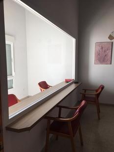 Finaliza en la Residencia de Mayores de Los Santos la habilitación de una sala segura frente al covid-19