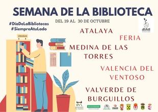 Varias localidades de la Mancomunidad Rio Bodión conmemoran del Día de la Biblioteca 2020 de manera presencial y virtual