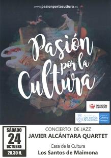 La Casa de la Cultura de Los Santos acoge un concierto de jazz a cargo de Javier Alcantara Quartet