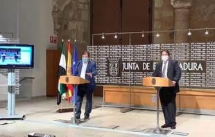Vara solicitará al Gobierno la declaración del estado de alarma en Extremadura ante la situación del coronavirus