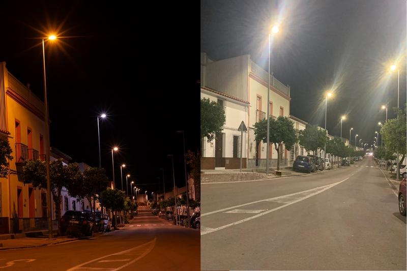 Más de 2000 luminarias han sido sustituidas a LED en la comarca Zafra - Río Bodión por la Diputación de Badajoz