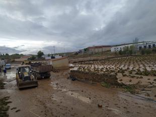 Tres carreteras de la red provincial continúan cerradas tras las copiosas lluvias de ayer