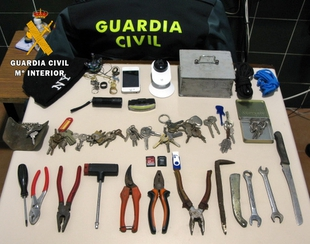 La Guardia Civil detiene a dos personas por los robos en viviendas de Zafra y Puebla de Sancho Pérez
