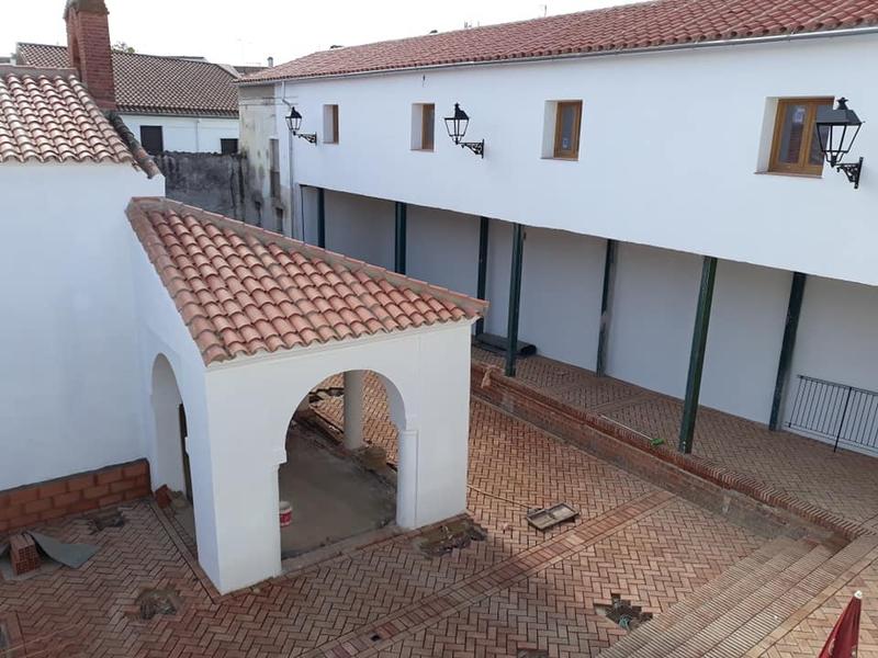 Las obras del antiguo hospital de San Miguel de Zafra se recepcionarán el próximo martes 24 de noviembre