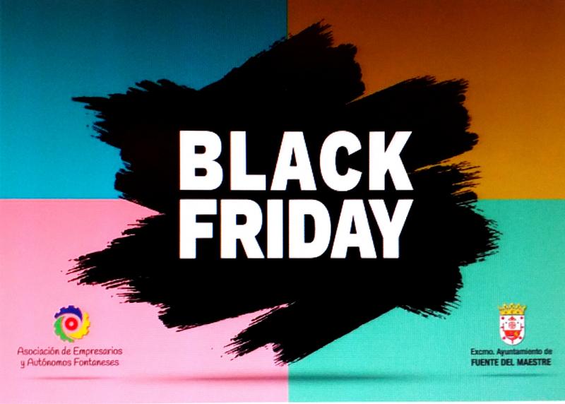 Los días 27 y 28 de noviembre se celebra el Black Friday en Fuente del Maestre