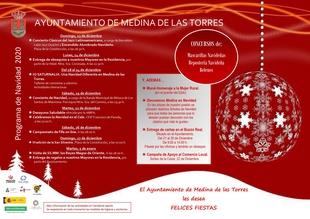 Medina de las Torres presenta una completa programación navideña