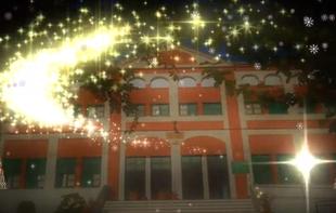 El Colegio público `Cruz Valero´ de Fuente del Maestre realiza un emotivo homenaje a los mayores del Centro de Día y de la Residencia
