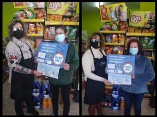El pequeño comercio de Los Santos de Maimona finaliza su campaña de Navidad premiando la fidelidad de sus clientes