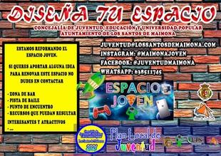 La Concejalía de Juventud de Los Santos de Maimona recibe ideas y sugerencias para la reforma y rediseño del Espacio Joven