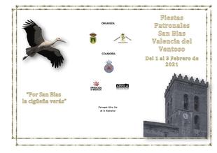 Valencia del Ventoso celebra las Fiestas Patronales de San Blas de forma virtual