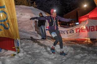 La fontanesa Eva Sayado campeona de España de Snow Running en Sierra Nevada