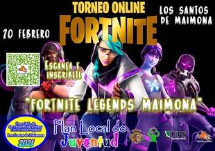Abierto el plazo de inscripción en el primer torneo online `Fortnite Legends Maimona´