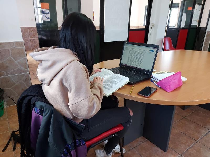 El Ayuntamiento de Zafra habilita dos salas en la Casa de la Juventud para los usuarios de la Biblioteca Municipal