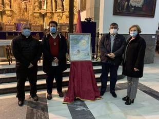 Presentado el Cartel de la Semana Santa 2021 en Los Santos de Maimona y el programa de actos en la parroquia