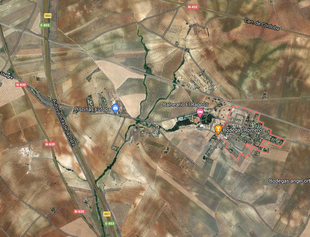 La Diputación formaliza las actas de ocupación de terrenos que permitirá actuar en la mejora de la carretera provincial BA-024 de El Raposo a la N-630