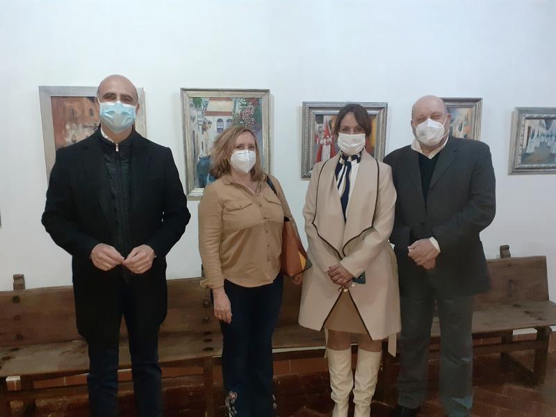 El Museo Santa Clara de Zafra acoge la exposición `Silencios´, con  quince cuadros de la pintora Carmen Ramos
