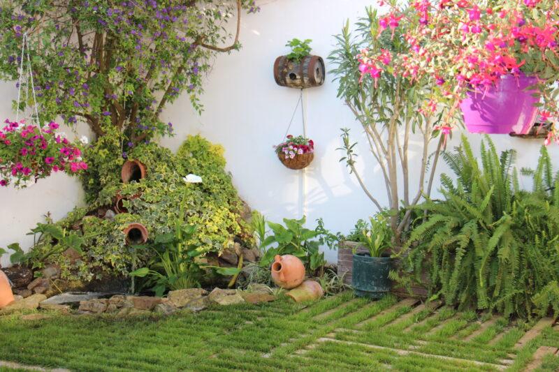 Convocado el IV Concurso de Ornamentación Floral de Patios, Jardines y Balcones de la Primavera 2021 en Los Santos de Maimona