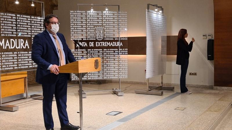 La Junta de Extremadura decide prorrogar al menos 14 días más el aislamiento perimetral de la comunidad