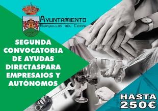 El Ayuntamiento de Burguillos del Cerro lanza la segunda convocatoria de ayudas directas a empresarios y autónomos afectados por el covid-19