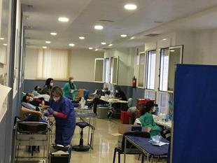 Fuente del Maestre registra un nuevo récord en donaciones de sangre con 241 bolsas en tres días de extracciones