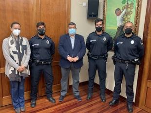 La Policía Local de Los Santos de Maimona cuenta ya con dos nuevos agentes