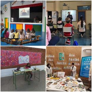 Numerosas actividades protagonizaron la Semana del Libro en los Centro Educativos de Fuente del Maestre