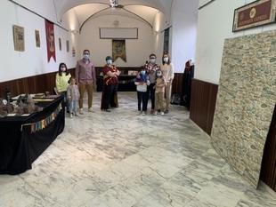Abierta en la Casa de la Cultura de Los Santos de Maimona la exposición de Harry Potter de Estefanía Patilla