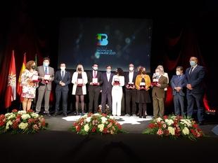 Entregadas las Medallas de Oro de 2020 y 2021 de la Provincia de Badajoz en la mañana de hoy en Fuente del Maestre