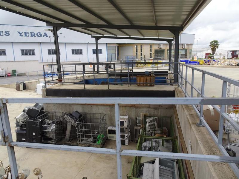 El punto limpio de Promedio en Zafra recibe un 20 por ciento más de visitas y residuos en 2020