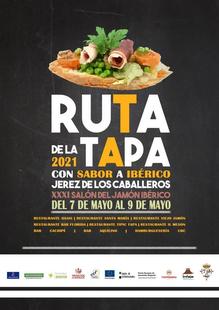 El Ayuntamiento y la Institución Ferial de Jerez de los Caballeros organizan la II Ruta de la Tapa 'Con sabor ibérico', del 7 al 9 de mayo