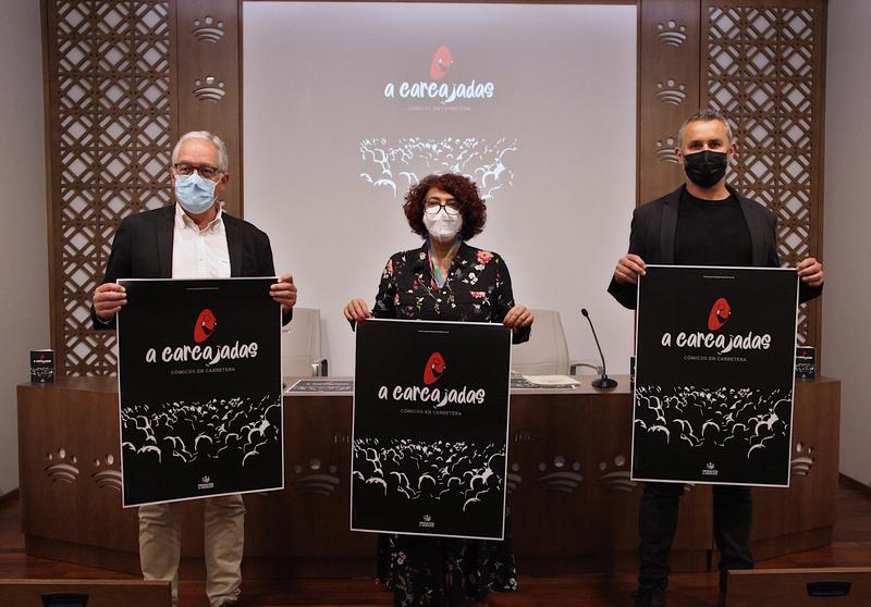 El nuevo programa de monologistas `A carcajadas: cómicos en carretera´ actuarán en Fuente del Maestre en la comarca