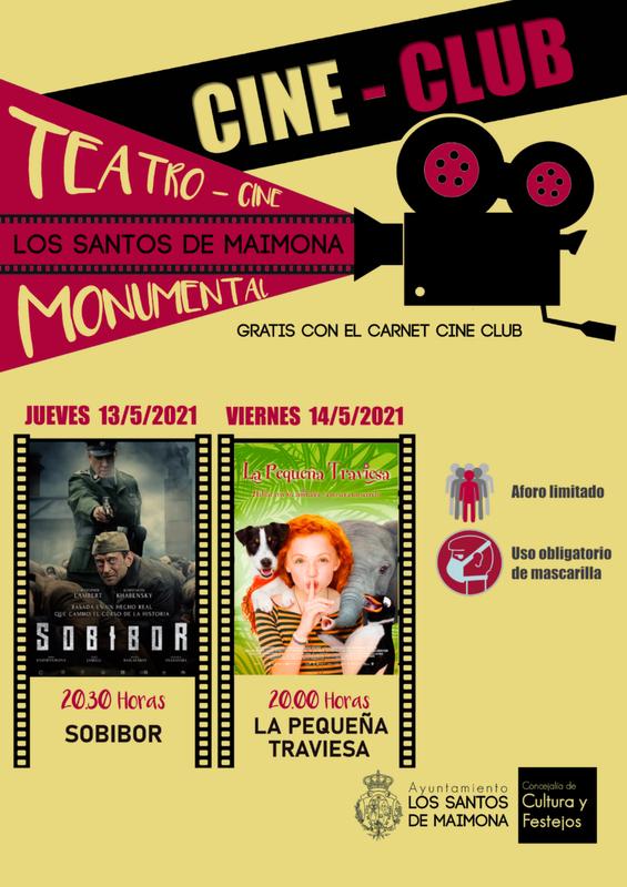 Doble cita con el Cine Club esta semana en Los Santos de Maimona
