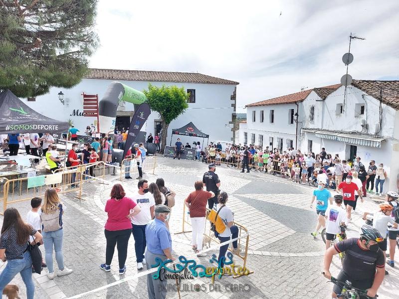 Bruno Paixao y Ana Ramos se proclamaban los ganadores absolutos de la IX Edición a la Subida al Castillo de Burguillos del Cerro