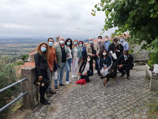 El coordinador de la Biblioteca de Fuente del Maestre ha participado en el intercambio de experiencias con las Aldeias Históricas de Portugal
