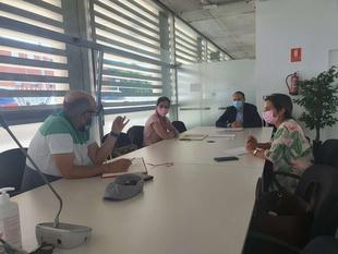 El director general de Planificación e Infraestructuras Hidráulicas analiza con la Mancomunidad Los Molinos su Plan de emergencia de sequía