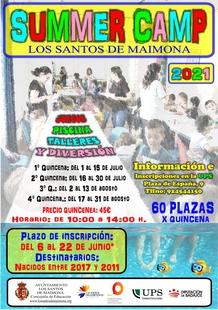 Abiertas las inscripciones para el Summer Camp 2021 en Los Santos de Maimona