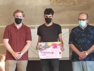 El medinense Miguel Tinoco, primer premio en el concurso Badajoz Pinta