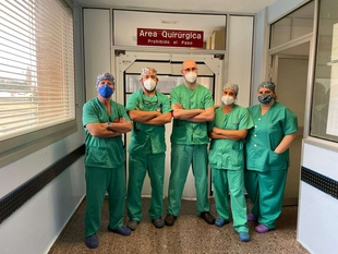 El Área de Salud de Llerena-Zafra comienza a realizar intervenciones urológicas con técnicas mínimamente invasivas