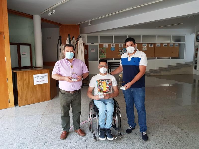 Francisco Javier López Sayago fue recibido en el Ayuntamiento de Fuente del Maestre
