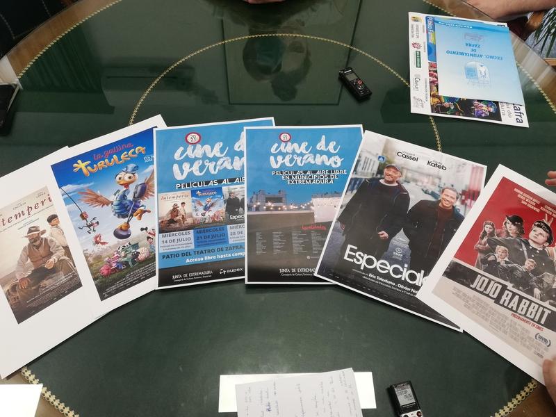 El Ayuntamiento de Zafra recupera el proyecto de cine de verano a partir de este miércoles 14 de julio
