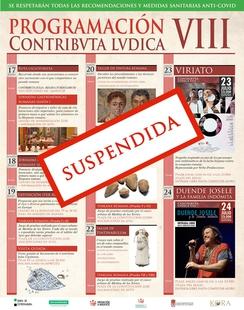 Suspendidas las actividades por la VIII edición de Contributa Lúdica en Medina de las Torres por el aumento de casos a covid-19