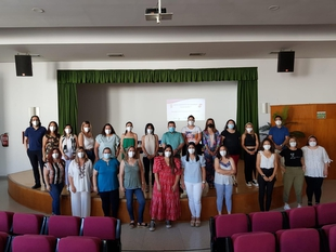 Inaugurada la Escuela Profesional `Fuente Roniel V´ en Fuente del Maestre