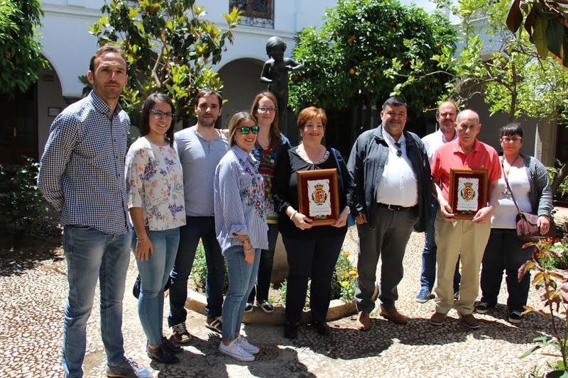 El ayuntamiento celebra el día de su patrona y rinde homenaje a tres trabajadores municipales