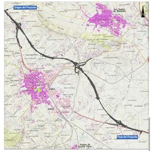 Sale a licitación las obras del proyecto `Variante de Zafra. Provincia de Badajoz´, en la carretera N-432