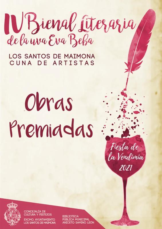 El santeño Joaquín Ortiz primer premio de la Bienal Literaria de la Uva Eva Beba – Los Santos Cuna de Artistas