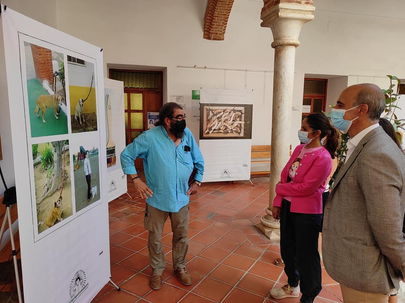 Inaugurada en Zafra la exposición `Vamos a ver poesía´