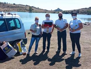 Entregados los premios del Concurso de Pesca Local en Burguillos del Cerro